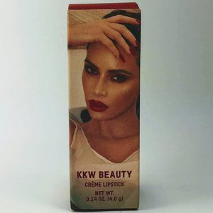 KKW Red Crème Lipstick ~ Candy Apple Red BNIB